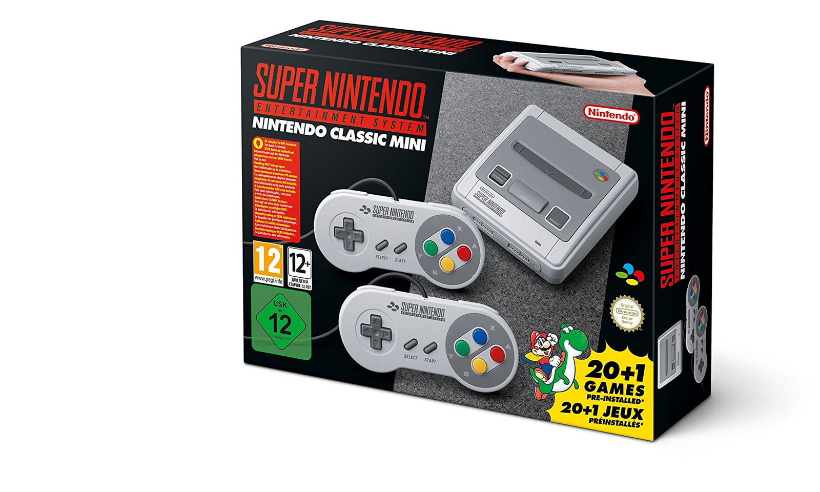 Nintendo Classic Mini: Super Nintendo Entertainment System (Foto: Nintendo)