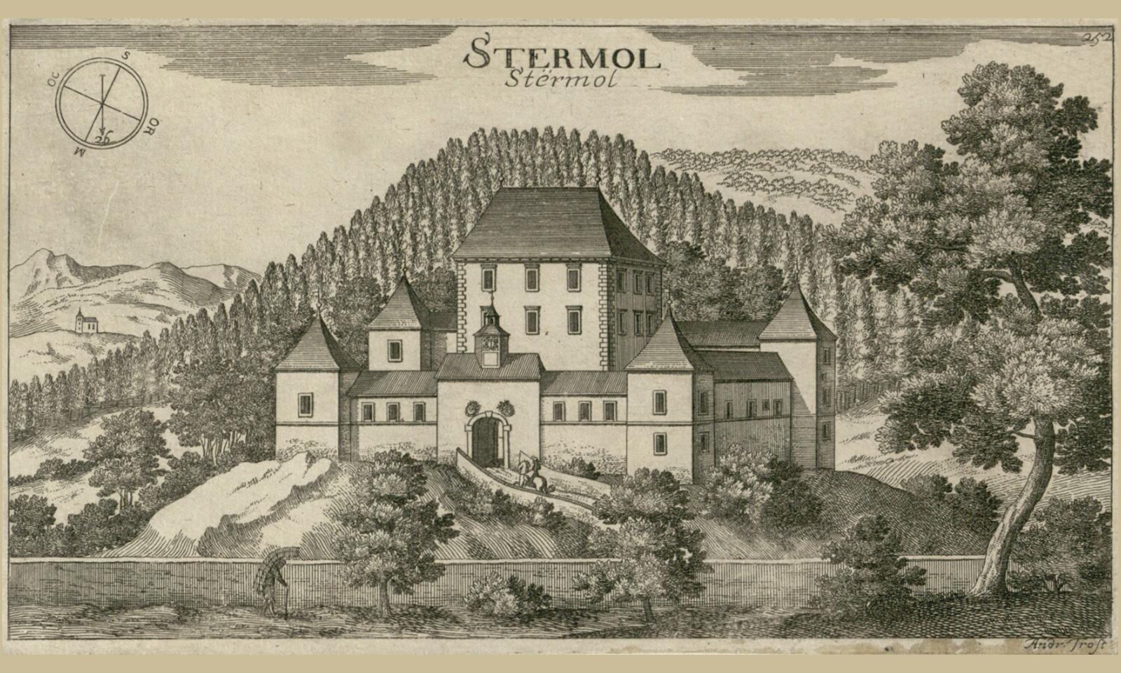 Grad Strmol v času Valvasorja