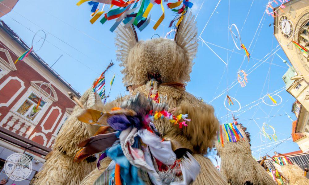 Mednarodna karnevalska povorka v Ptuju, Kurent, Kurentovanje