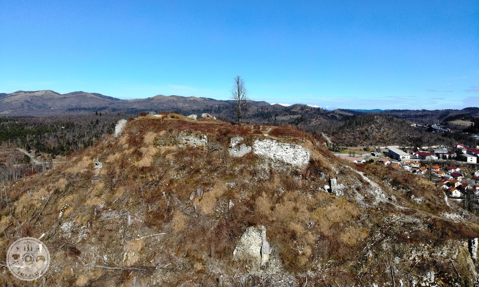 Sovič in grad Adlsberg
