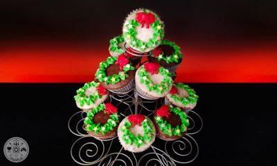 mafini, sacher, božič, božična sladica