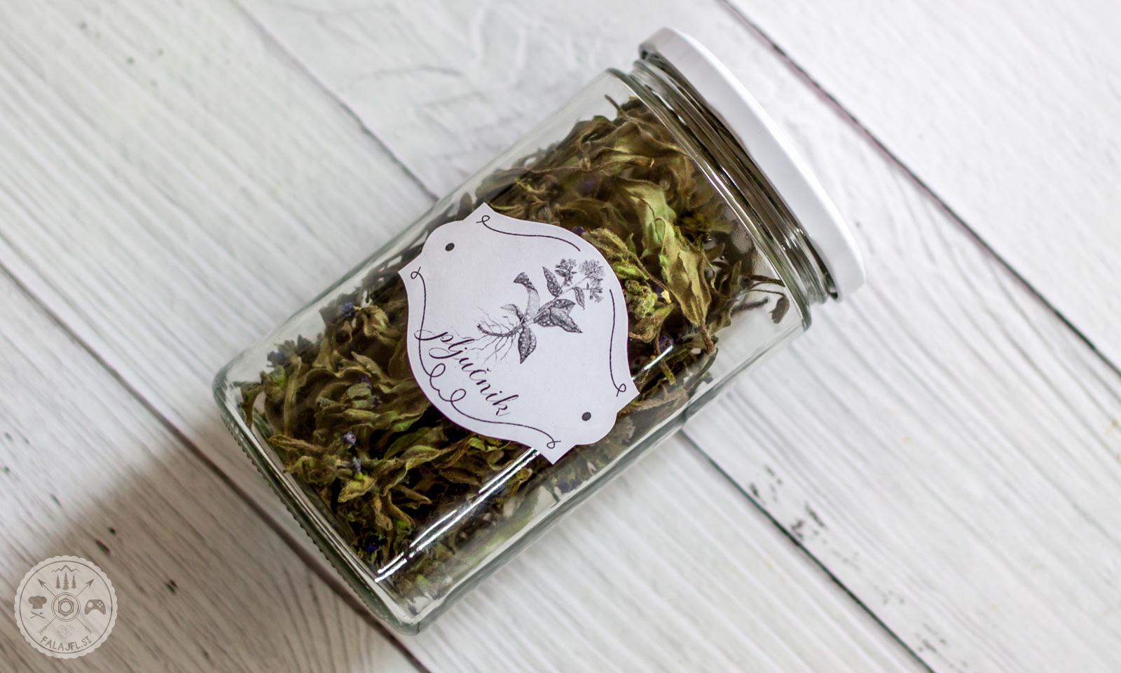 Posušen pljučnik za čaj