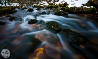 Soteska Predaselj, fotografiranje voda