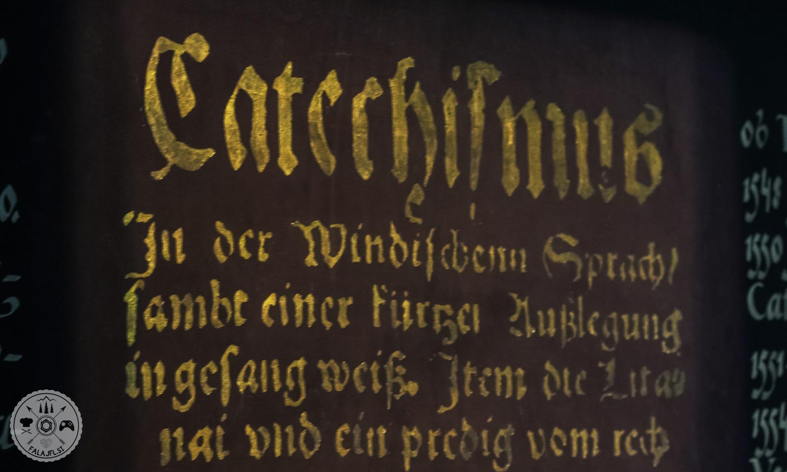Primož Trubar, dan reformacije