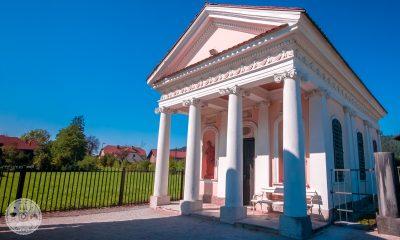 Erbergova paviljona, Dol pri Ljubljani, graščina Dol, klasicizem
