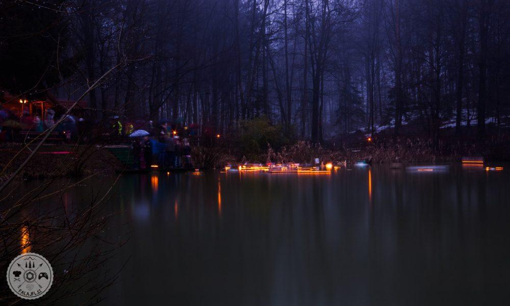 Gregorčki na ribniku Križ