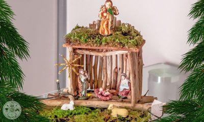 hlevček, jaslice, advent, božič, ustvarjanje, ustvarjalnice