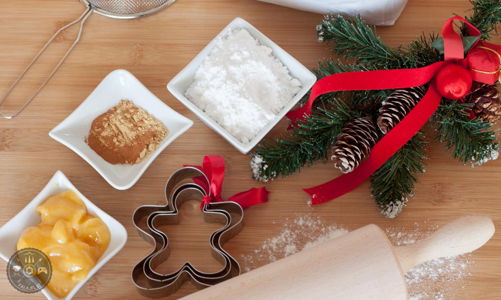 ingverjevi božični piškoti, sestavine