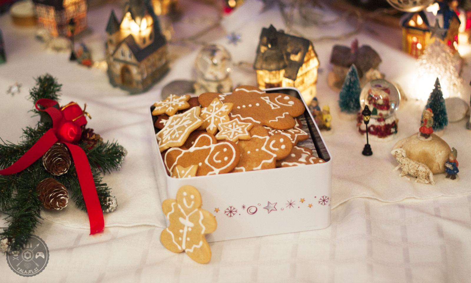 okusni ingverjevi božični piškoti