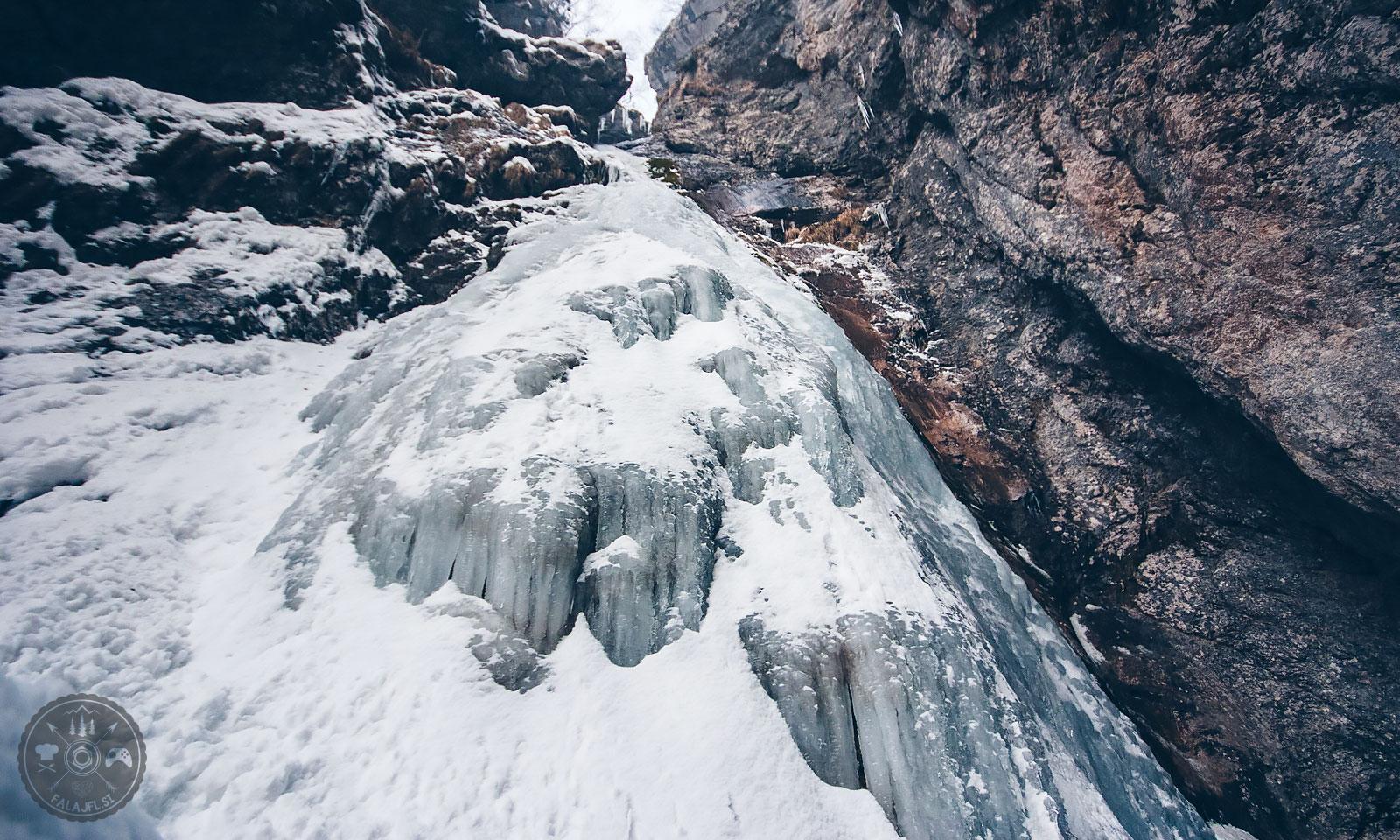 Slap Orglice, potok Bela, Kamniška Bistrica, dolina Kamniške Bele