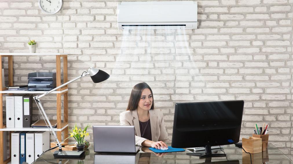 Klimatske naprave na delovnem mestu