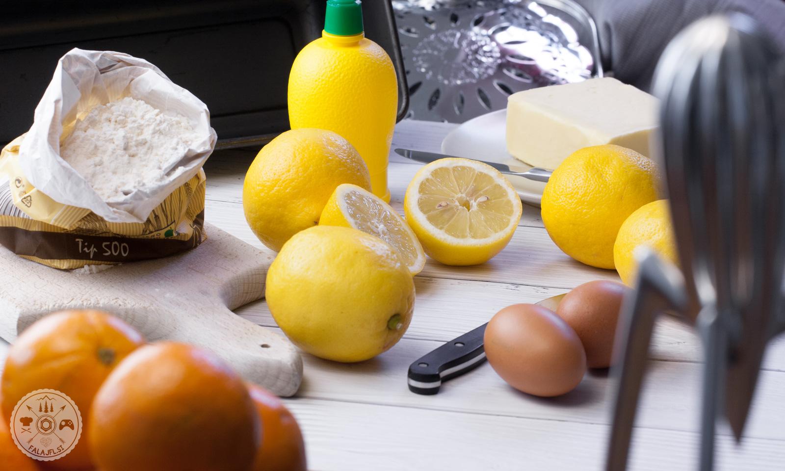 priprava limoninega kolača