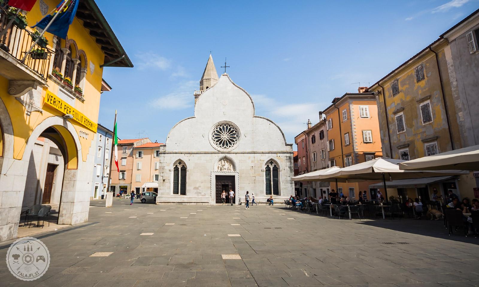 italijansko istrsko mestece Milje