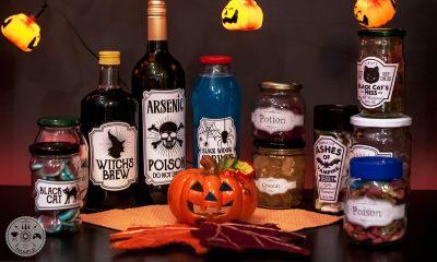 noč čarovnic, halloween, napoji, ustvarjanje