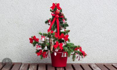 novo leto, božič, smreka, okraski, advent, prazniki