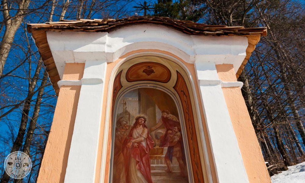 Stari grad Smlednik, celjski grofje,, kalvarija