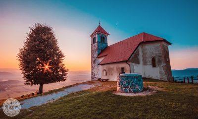 sv. Ana, sveta Ana. Jezero, Ljubljansko barje, sv. ana nad jezerom