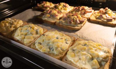 Topli sendviči v pečici