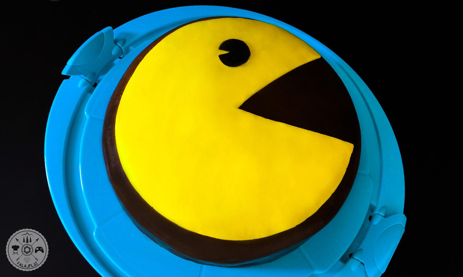 Pac-Man sadna torta za igričarje